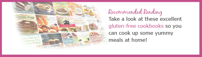Take a look at these Gluten-Free books